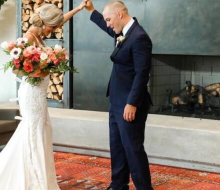 Fiorellas Kansas City Wedding Venue carpet