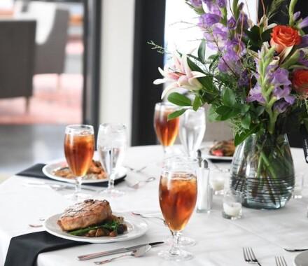 Fiorellas Kansas City Wedding Venue table