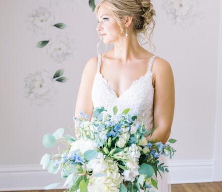 Hawthorne House Wedding Venue Kansas City bride