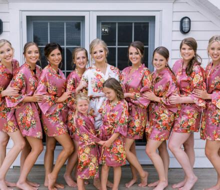 Hawthorne House Wedding Venue Kansas City bridesmaids