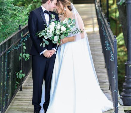Hawthorne House Wedding Venue Kansas City bridge