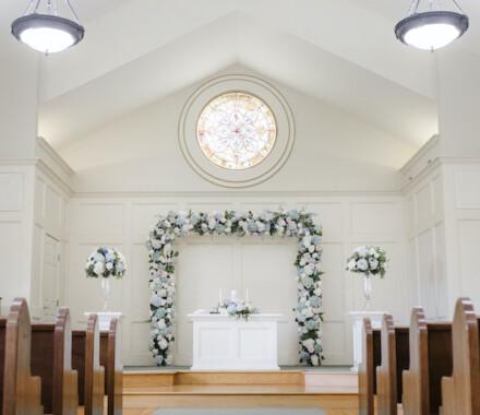 Hawthorne House Wedding Venue Kansas City chapel
