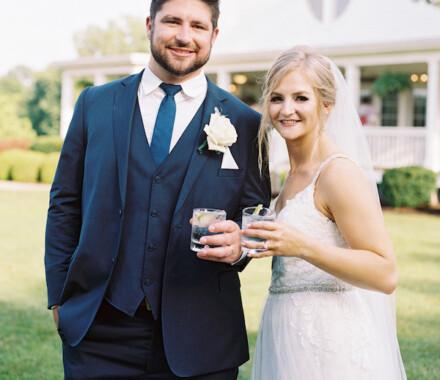 Hawthorne House Wedding Venue Kansas City cheers