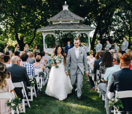 Hawthorne House Wedding Venue Kansas City gazeebo