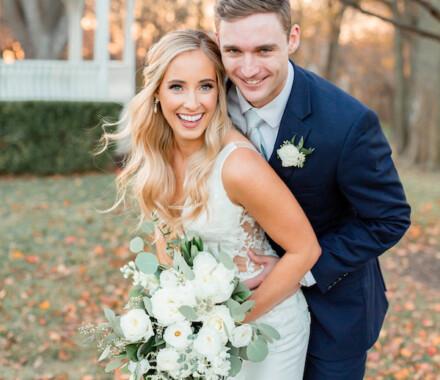 Hawthorne House Wedding Venue Kansas City hug