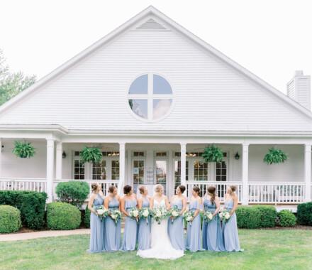 Hawthorne House Wedding Venue Kansas City lawn
