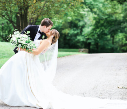 Hawthorne House Wedding Venue Kansas City trail 2