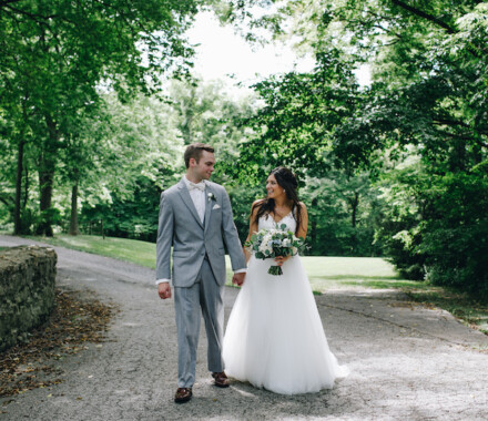 Hawthorne House Wedding Venue Kansas City trail