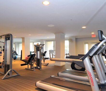 Intercontinental Hotel Kansas City Wedding Venue Plaza Accommodations gym