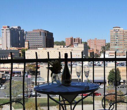 Intercontinental Hotel Kansas City Wedding Venue Plaza Accommodations view
