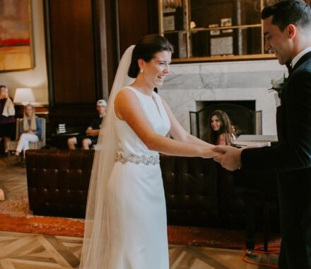 Intercontinental Hotel Kansas City Wedding Venue Plaza look