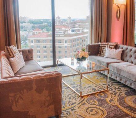 Intercontinental Hotel Kansas City Wedding Venue Plaza lounge