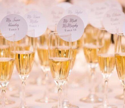 Intercontinental Hotel Kansas City Wedding Venue Plaza toast