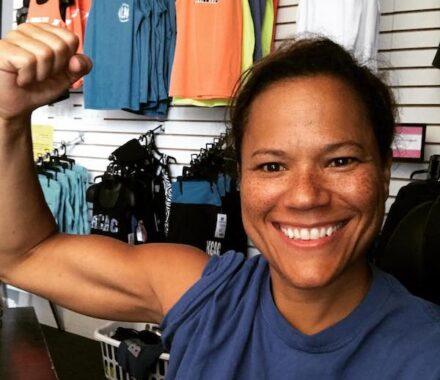 KC Athletic Cut Kansas City Wedding Fitness Trainer flex