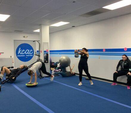 KC Athletic Cut Kansas City Wedding Fitness Trainer rotate