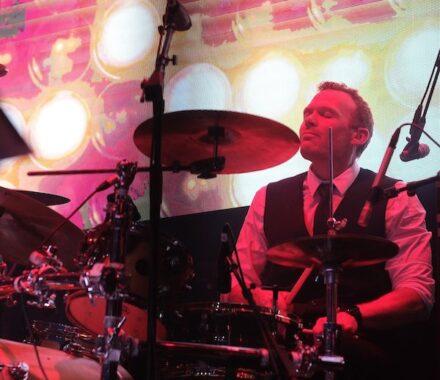 Lost Wax Kansas City Wedding Band drumbs