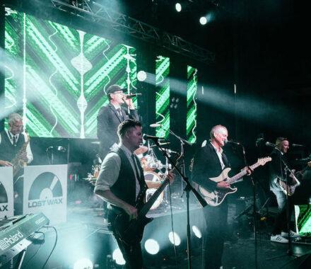 Lost Wax Kansas City Wedding Band green