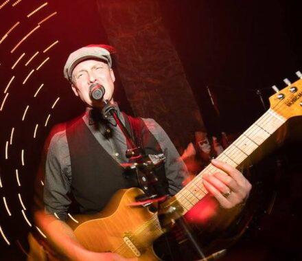 Lost Wax Kansas City Wedding Band guitar