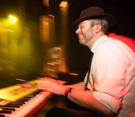 Lost Wax Kansas City Wedding Band piano