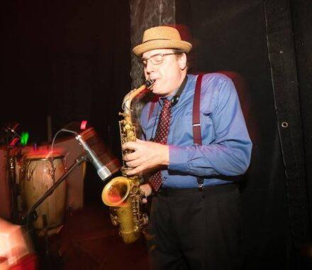 Lost Wax Kansas City Wedding Band sax