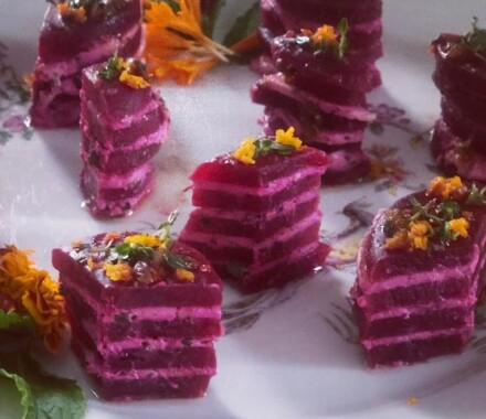 Marigolds Food Truck Kansas City Wedding Catering purple