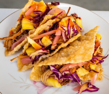 Marigolds Food Truck Kansas City Wedding Catering taco