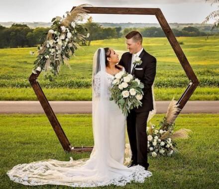 Netanya's Pix Photography Kansas City Wedding arbor
