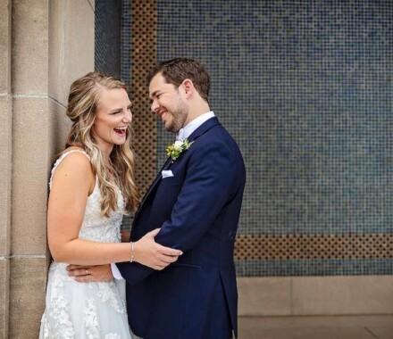 Netanya's Pix Photography Kansas City Wedding laugh