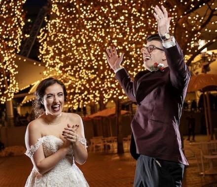 Netanya's Pix Photography Kansas City Wedding lights