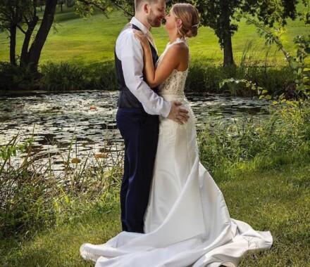 Netanya's Pix Photography Kansas City Wedding pond