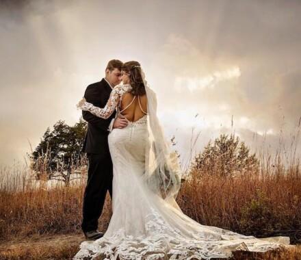 Netanya's Pix Photography Kansas City Wedding rays