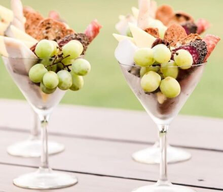 Olive Events Catering Wedding Kansas City Charcuterie Martini Glass