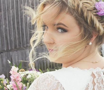 Pretty Bride Co Hair Makeup Stylist Wedding Kansas City wind