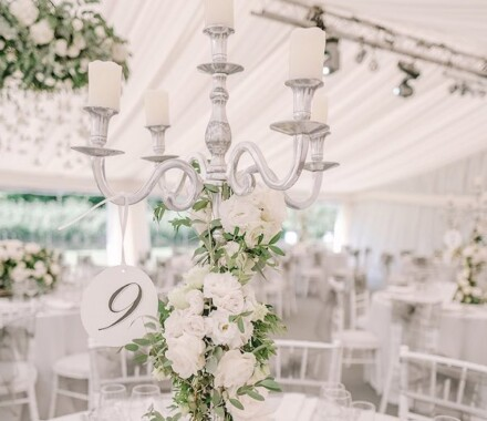 Supply Event Rentals and Design Kansas City Wedding candle