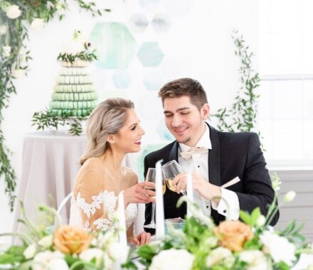 Supply Event Rentals and Design Kansas City Wedding couple