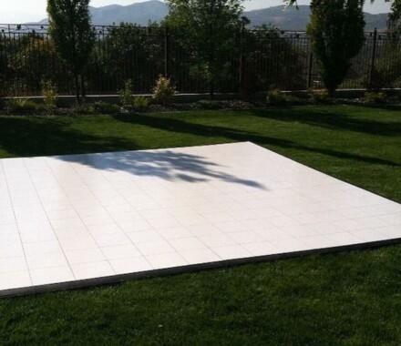 Supply Event Rentals and Design Kansas City Wedding dancefloor