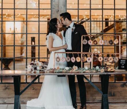 Supply Event Rentals and Design Kansas City Wedding dessert