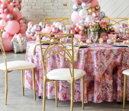 Supply Event Rentals and Design Kansas City Wedding pink