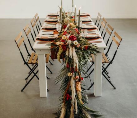 Supply Event Rentals and Design Kansas City Wedding table