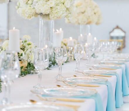 Supply Event Rentals and Design Kansas City Wedding teal