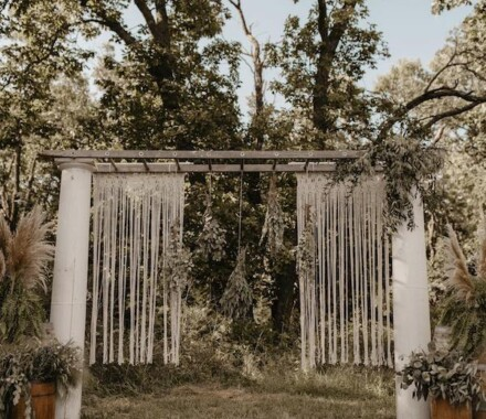 Tannah Terry Photography Kansas City Wedding arbor