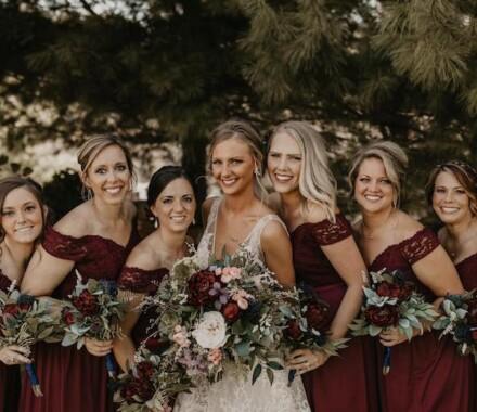 Tannah Terry Photography Kansas City Wedding bridesmaids