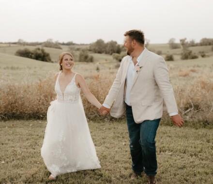 Tannah Terry Photography Kansas City Wedding feild
