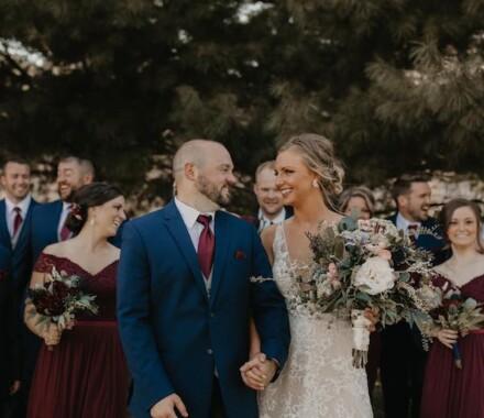Tannah Terry Photography Kansas City Wedding pine