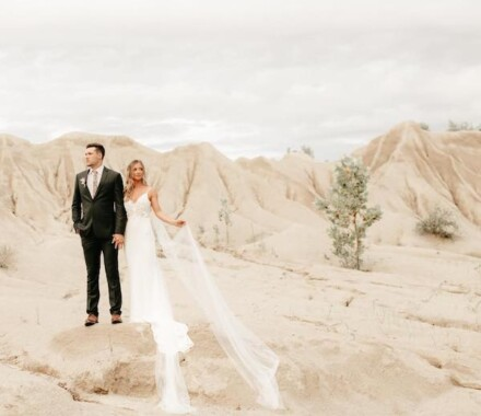 Tannah Terry Photography Kansas City Wedding rocks