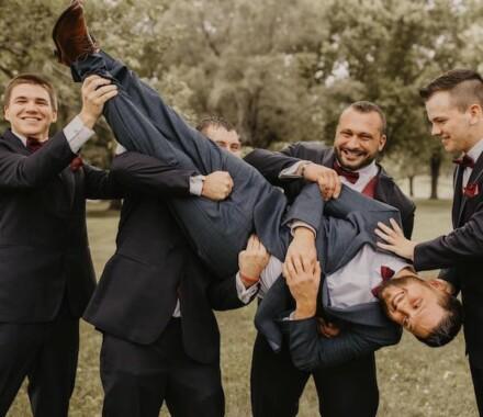 Tannah Terry Photography Kansas City Wedding silly