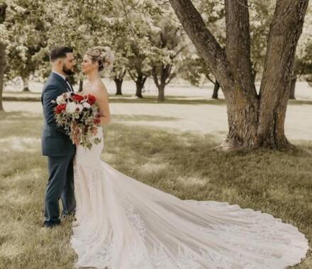Tannah Terry Photography Kansas City Wedding train