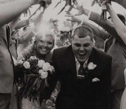 Tannah Terry Photography Kansas City Wedding tunnel