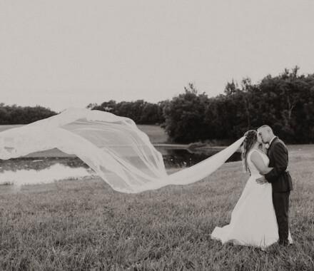 Tannah Terry Photography Kansas City Wedding veil