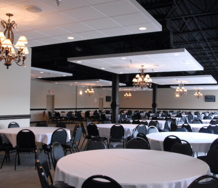 The Cotillion Wedding Venue Kansas City Blue Springs black